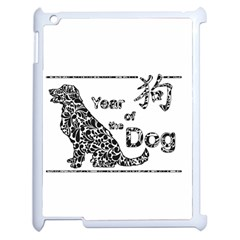 Year Of The Dog   Chinese New Year Apple Ipad 2 Case (white)
