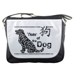 Year Of The Dog   Chinese New Year Messenger Bags