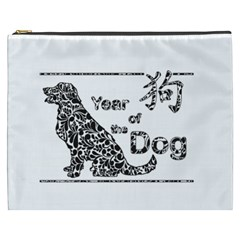 Year Of The Dog   Chinese New Year Cosmetic Bag (xxxl)
