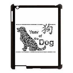 Year Of The Dog   Chinese New Year Apple Ipad 3/4 Case (black)