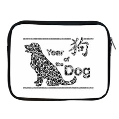 Year Of The Dog   Chinese New Year Apple Ipad 2/3/4 Zipper Cases