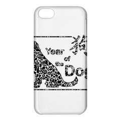 Year Of The Dog   Chinese New Year Apple Iphone 5c Hardshell Case
