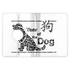 Year Of The Dog   Chinese New Year Kindle Fire Hdx Flip 360 Case