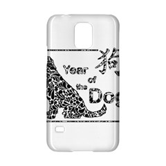 Year Of The Dog   Chinese New Year Samsung Galaxy S5 Hardshell Case