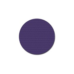 Color Of The Year 2018   Ultraviolet   Art Deco Black Edition Golf Ball Marker (4 Pack)