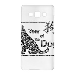 Year Of The Dog   Chinese New Year Samsung Galaxy A5 Hardshell Case