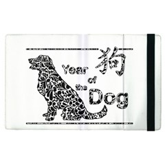 Year Of The Dog   Chinese New Year Apple Ipad Pro 9 7   Flip Case