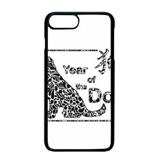 Year Of The Dog   Chinese New Year Apple Iphone 7 Plus Seamless Case (black)