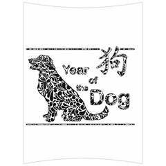 Year Of The Dog   Chinese New Year Back Support Cushion