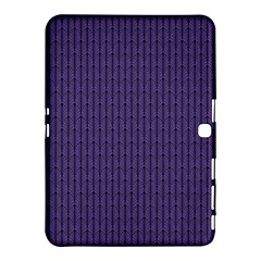 Color Of The Year 2018   Ultraviolet   Art Deco Black Edition Samsung Galaxy Tab 4 (10 1 ) Hardshell Case
