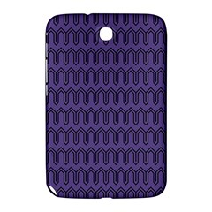 Color Of The Year 2018   Ultraviolet   Art Deco Black Edition Samsung Galaxy Note 8 0 N5100 Hardshell Case
