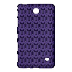 Color Of The Year 2018   Ultraviolet   Art Deco Black Edition Samsung Galaxy Tab 4 (7 ) Hardshell Case