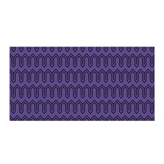 Color Of The Year 2018   Ultraviolet   Art Deco Black Edition Satin Wrap