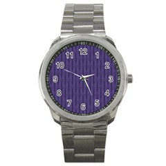 Color Of The Year 2018   Ultraviolet   Art Deco Black Edition Sport Metal Watch