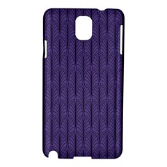 Color Of The Year 2018   Ultraviolet   Art Deco Black Edition Samsung Galaxy Note 3 N9005 Hardshell Case