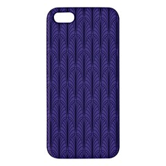 Color Of The Year 2018   Ultraviolet   Art Deco Black Edition Iphone 5s/ Se Premium Hardshell Case