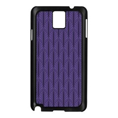 Color Of The Year 2018   Ultraviolet   Art Deco Black Edition Samsung Galaxy Note 3 N9005 Case (black)