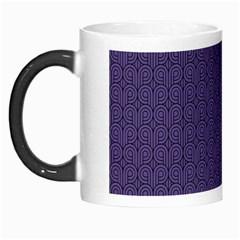 Color Of The Year 2018   Ultraviolet   Art Deco Black Edition Morph Mugs