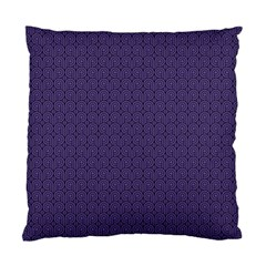 Color Of The Year 2018   Ultraviolet   Art Deco Black Edition Standard Cushion Case (two Sides)