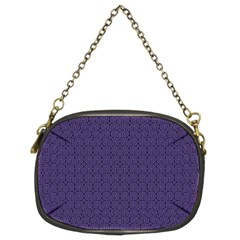 Color Of The Year 2018   Ultraviolet   Art Deco Black Edition Chain Purses (two Sides)