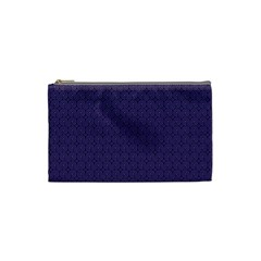 Color Of The Year 2018   Ultraviolet   Art Deco Black Edition Cosmetic Bag (small)