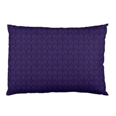 Color Of The Year 2018   Ultraviolet   Art Deco Black Edition Pillow Case (two Sides)