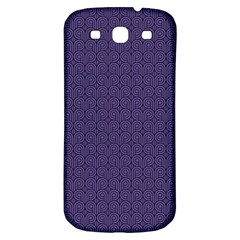 Color Of The Year 2018   Ultraviolet   Art Deco Black Edition Samsung Galaxy S3 S Iii Classic Hardshell Back Case