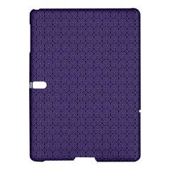 Color Of The Year 2018   Ultraviolet   Art Deco Black Edition Samsung Galaxy Tab S (10 5 ) Hardshell Case