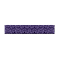 Color Of The Year 2018   Ultraviolet   Art Deco Black Edition Flano Scarf (mini)