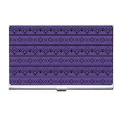 Color Of The Year 2018   Ultraviolet   Art Deco Black Edition Business Card Holders