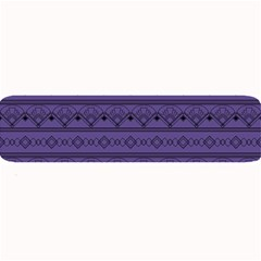 Color Of The Year 2018   Ultraviolet   Art Deco Black Edition Large Bar Mats