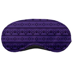 Color Of The Year 2018   Ultraviolet   Art Deco Black Edition Sleeping Masks