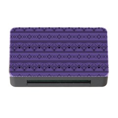 Color Of The Year 2018   Ultraviolet   Art Deco Black Edition Memory Card Reader With Cf