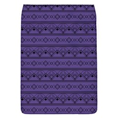 Color Of The Year 2018   Ultraviolet   Art Deco Black Edition Flap Covers (s)