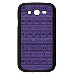 Color Of The Year 2018   Ultraviolet   Art Deco Black Edition Samsung Galaxy Grand Duos I9082 Case (black)