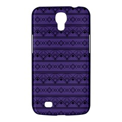 Color Of The Year 2018   Ultraviolet   Art Deco Black Edition Samsung Galaxy Mega 6 3  I9200 Hardshell Case