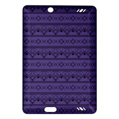Color Of The Year 2018   Ultraviolet   Art Deco Black Edition Amazon Kindle Fire Hd (2013) Hardshell Case