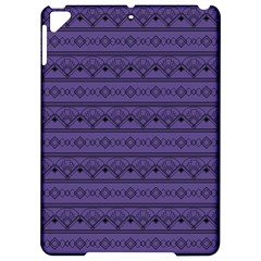 Color Of The Year 2018   Ultraviolet   Art Deco Black Edition Apple Ipad Pro 9 7   Hardshell Case