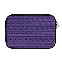 Color Of The Year 2018   Ultraviolet   Art Deco Black Edition Apple Macbook Pro 17  Zipper Case