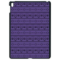 Color Of The Year 2018   Ultraviolet   Art Deco Black Edition Apple Ipad Pro 9 7   Black Seamless Case