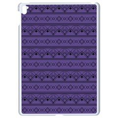 Color Of The Year 2018   Ultraviolet   Art Deco Black Edition Apple Ipad Pro 9 7   White Seamless Case