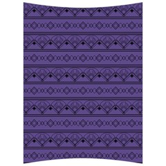 Color Of The Year 2018   Ultraviolet   Art Deco Black Edition Back Support Cushion