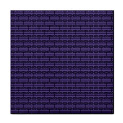 Color Of The Year 2018   Ultraviolet   Art Deco Black Edition Tile Coasters