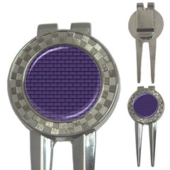 Color Of The Year 2018   Ultraviolet   Art Deco Black Edition 3 In 1 Golf Divots