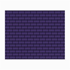 Color Of The Year 2018   Ultraviolet   Art Deco Black Edition Small Glasses Cloth (2 Side)