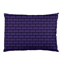 Color Of The Year 2018   Ultraviolet   Art Deco Black Edition Pillow Case