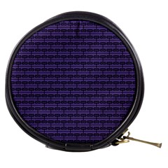 Color Of The Year 2018   Ultraviolet   Art Deco Black Edition Mini Makeup Bags