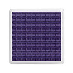 Color Of The Year 2018   Ultraviolet   Art Deco Black Edition Memory Card Reader (square)