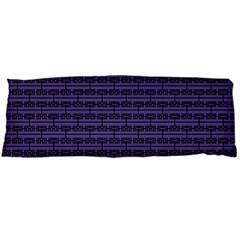 Color Of The Year 2018   Ultraviolet   Art Deco Black Edition Body Pillow Case (dakimakura)