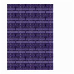 Color Of The Year 2018   Ultraviolet   Art Deco Black Edition Small Garden Flag (two Sides)